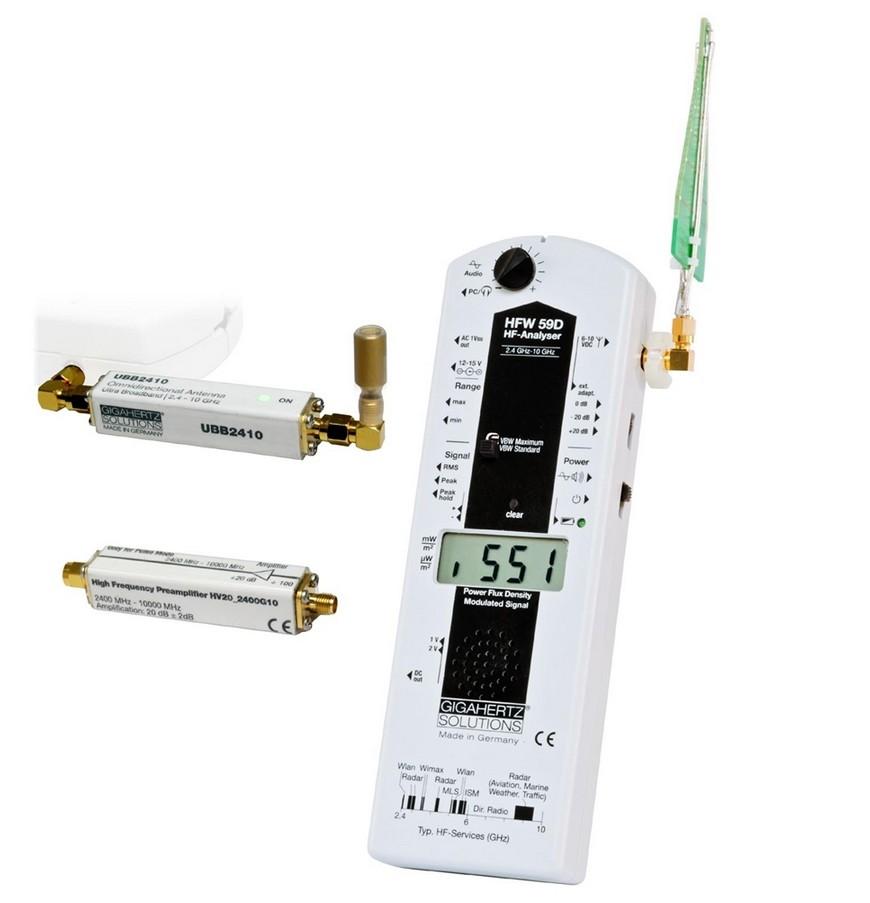Appareil de mesure hautes fr quences gigahertz solutions hfw59d plus nouvea - Appareil pour mesurer les ondes ...