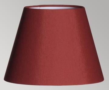 Abat jour bordeaux pour lampes de chevet blind es danell ondes - Abat jour pour lampe de chevet ...
