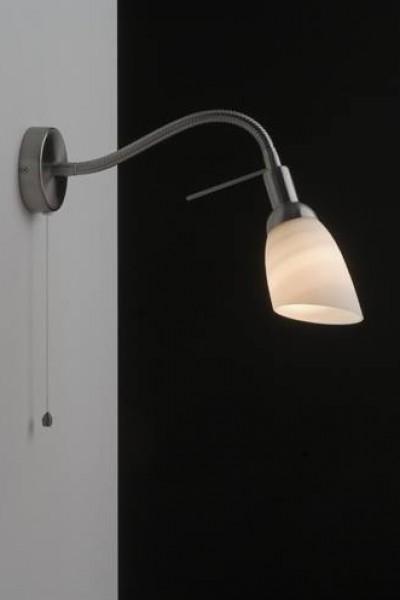 applique blind e danell acier bross interrupteur ficelle ondes. Black Bedroom Furniture Sets. Home Design Ideas
