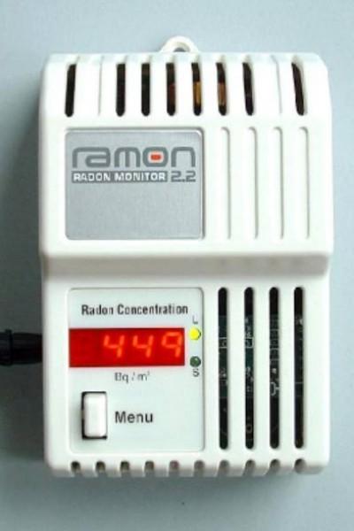 mesureur de radon ramon 2 2 ondes. Black Bedroom Furniture Sets. Home Design Ideas
