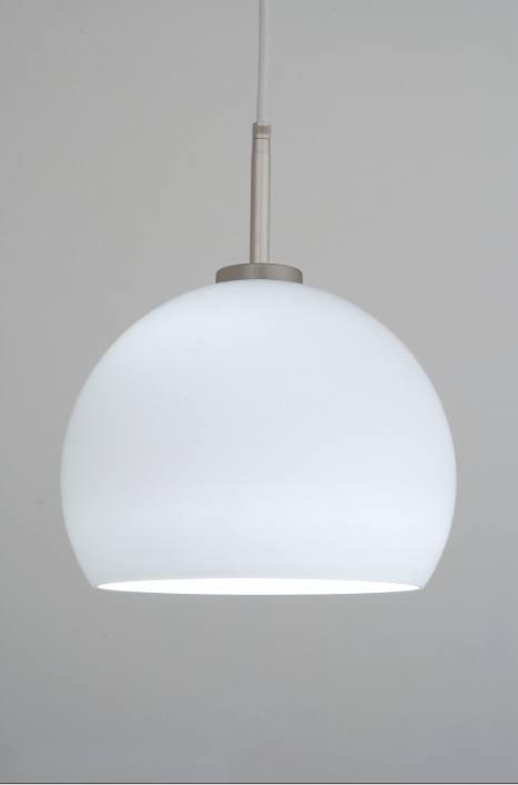 suspension blind e danell boule blanche ondes. Black Bedroom Furniture Sets. Home Design Ideas