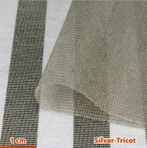 Tissu HF + BF Silver-Tricot YShield