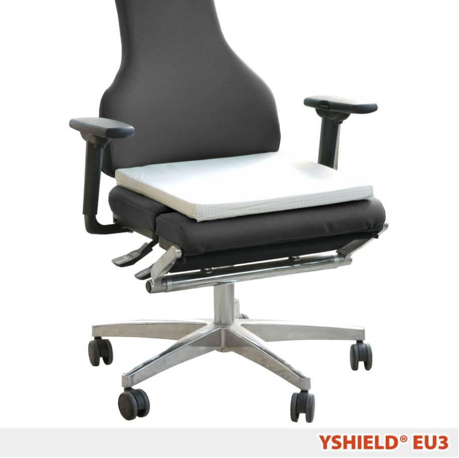 coussin de earthing eu3 yshield en mousse pour si ges et canap s ondes. Black Bedroom Furniture Sets. Home Design Ideas